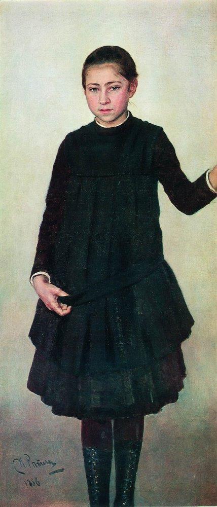 Ilya Efimovich Repin. Portrait Of V. I. Repina