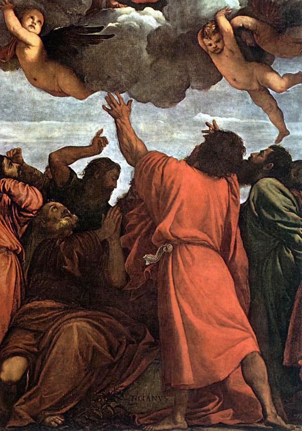 Titian Vecelli. Assunta: Assumption Of The Virgin Mary. Snippet: the apostles