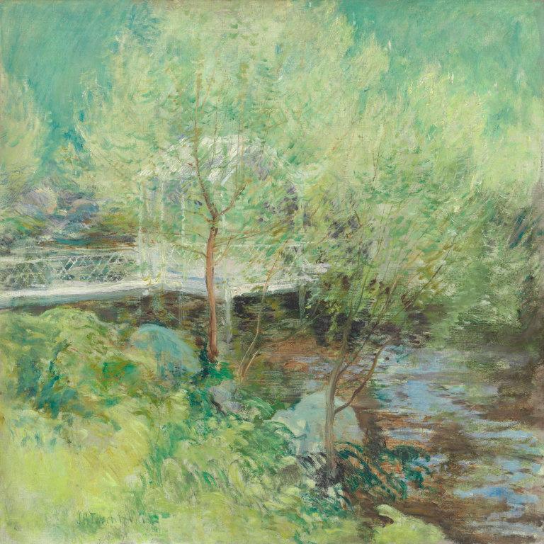 Джон Генри Твахтман. Белый мост