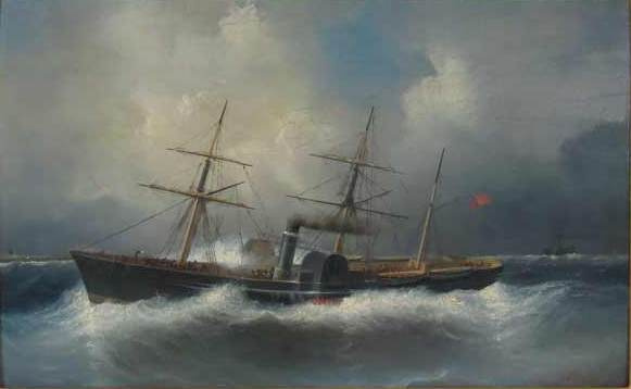 Philip Tanner. The Wreck Of The Atlantic