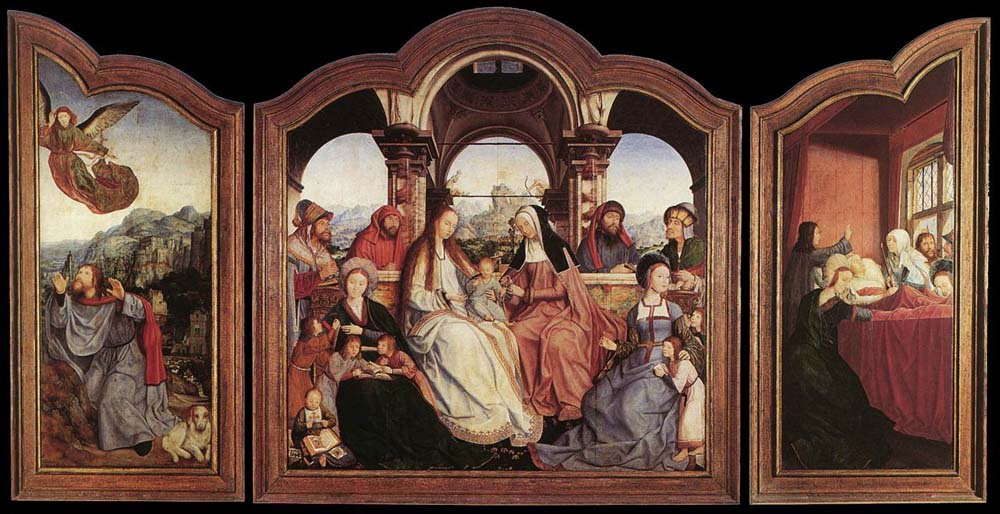 Квентин Массейс. Алтарь Святой Анны
