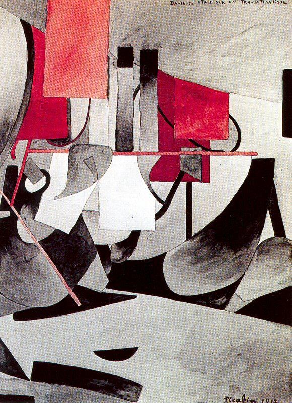 Франсис Пикабиа. Сочетание красного и черного
