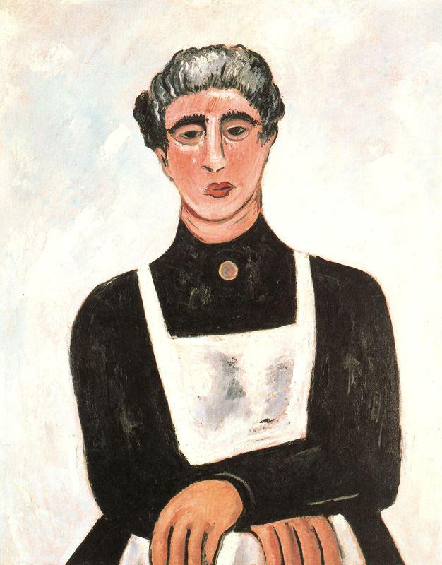 Marsden Hartley. Portrait