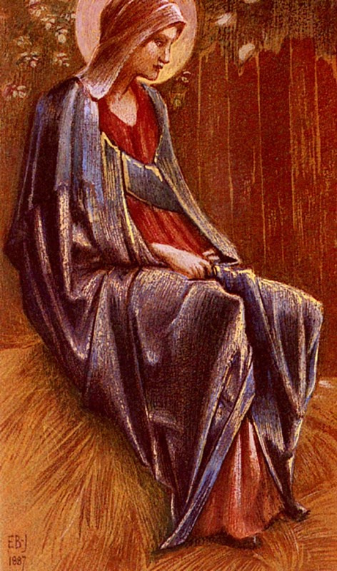 Edward Coley Burne-Jones. The Virgin