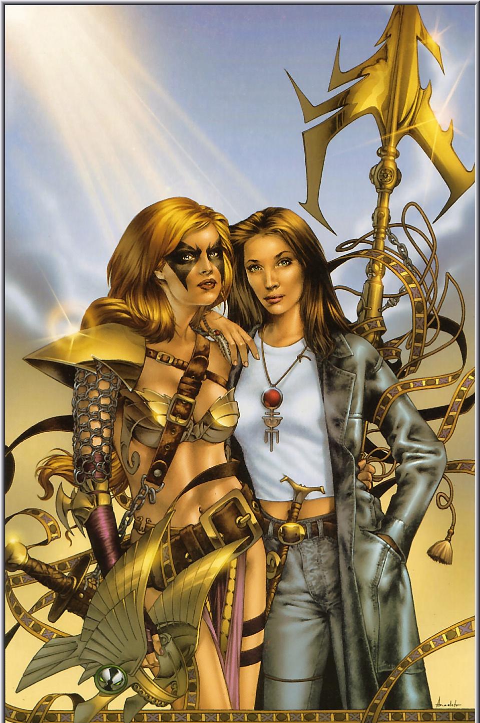Jay Anacleto. Aria and Angela