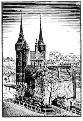 Мауриц Корнелис Эшер. Замок