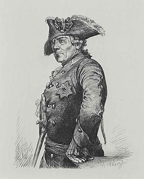 Адольф фон Менцель. Фридрих Великий