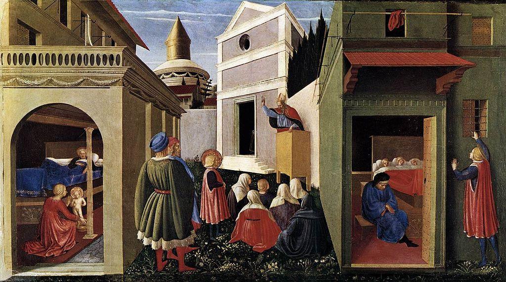 Фра Беато Анджелико. Сцены из жизни Святого Николая
