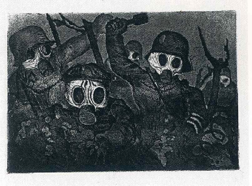 Отто Дикс. Штормовые войска, выросшие под газом