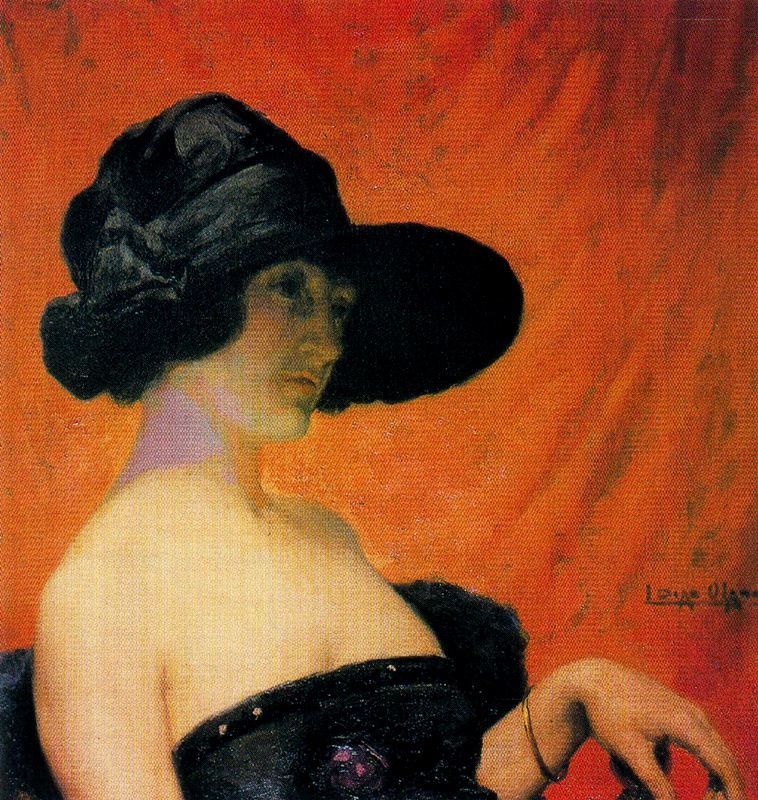 Salvador Díaz Ignacio Ruiz de Olano. The artist's wife.