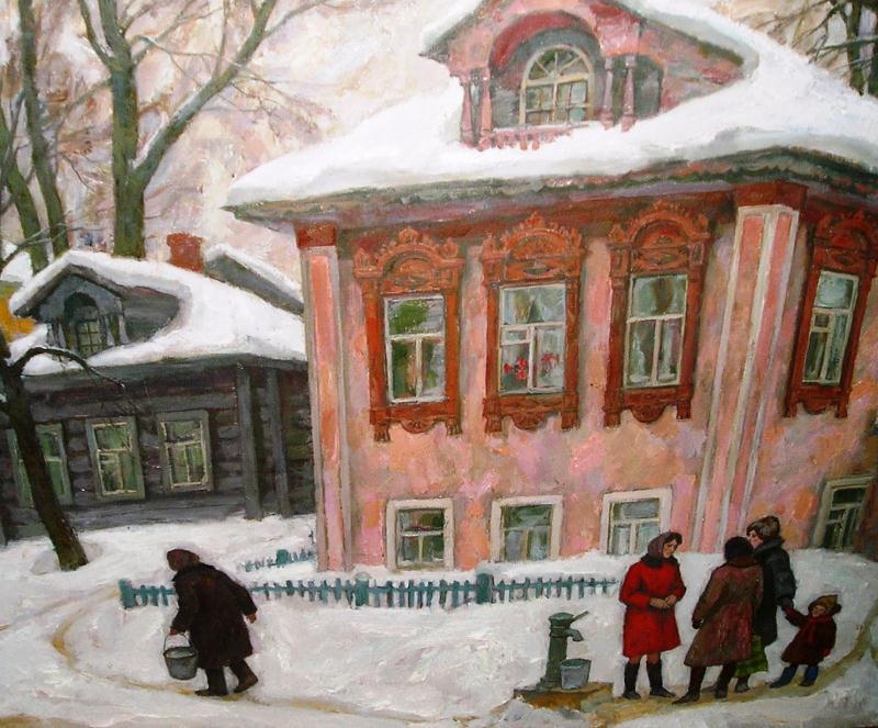 Alexey Nikolaevich Sukhovetsky. Winter