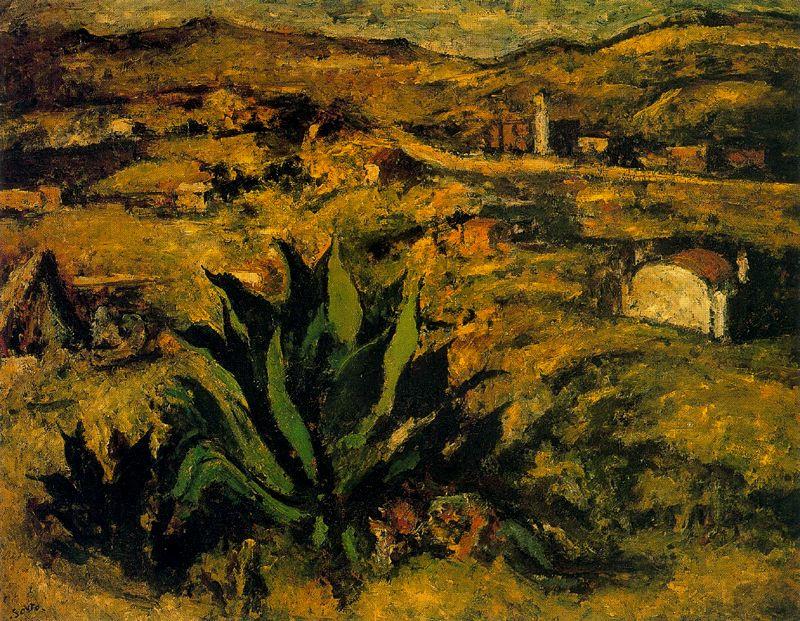 Артуро Соуто. Растения