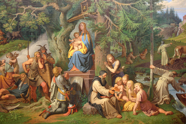 Josef von Fürich. Religious story 12
