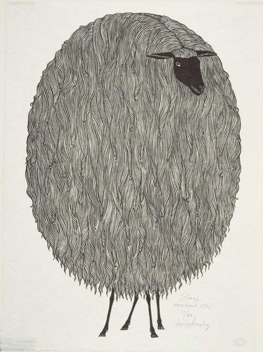 Яков Гниздовский. Овца