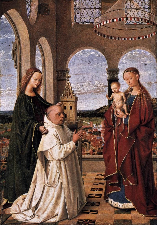 Petrus Christus. The Madonna and child