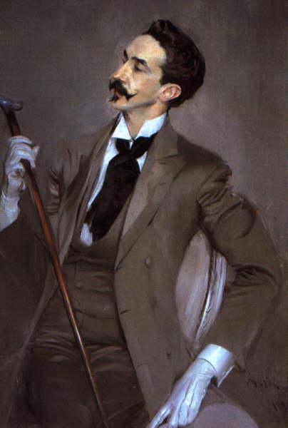 Джованни Больдини. Портрет джентльмена в белых перчатках