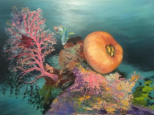 Art De FARO (art by Olga Farforina). Sea world