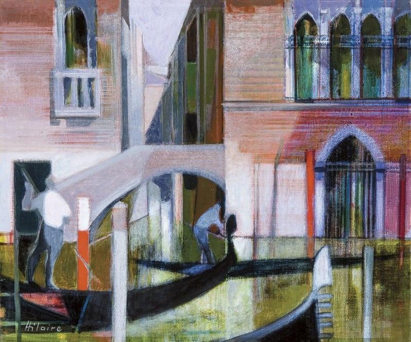 Camille Ilera. Traghetto San Gregorio, Venise