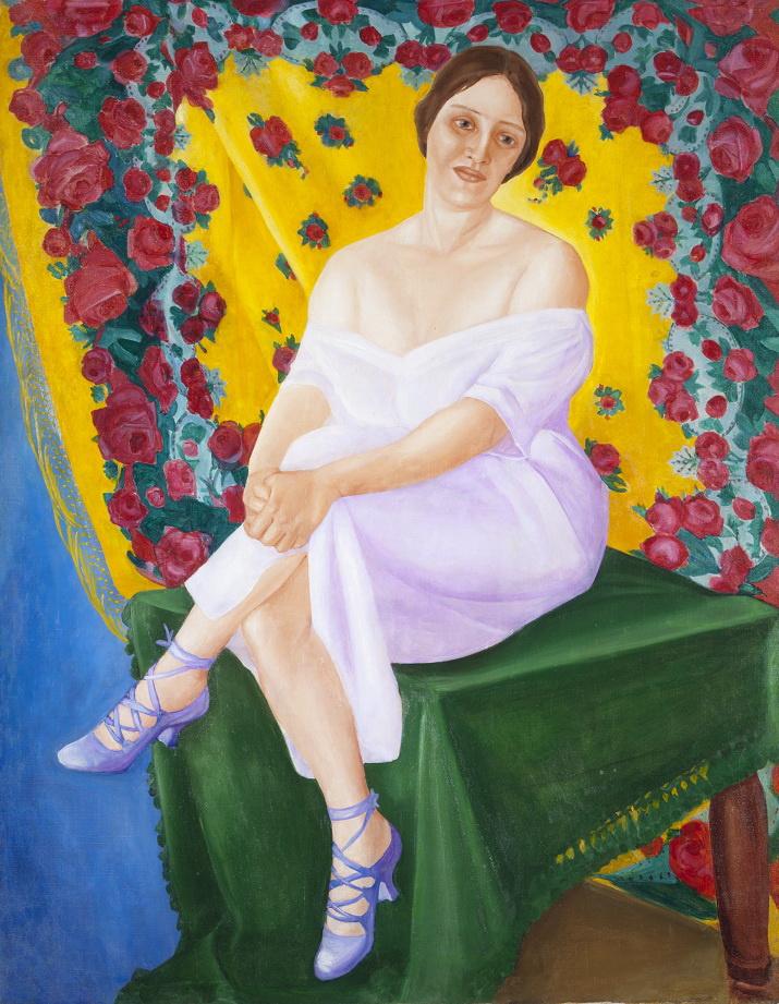 Фавста Николаевна Шихманова. Portrait of a ballerina
