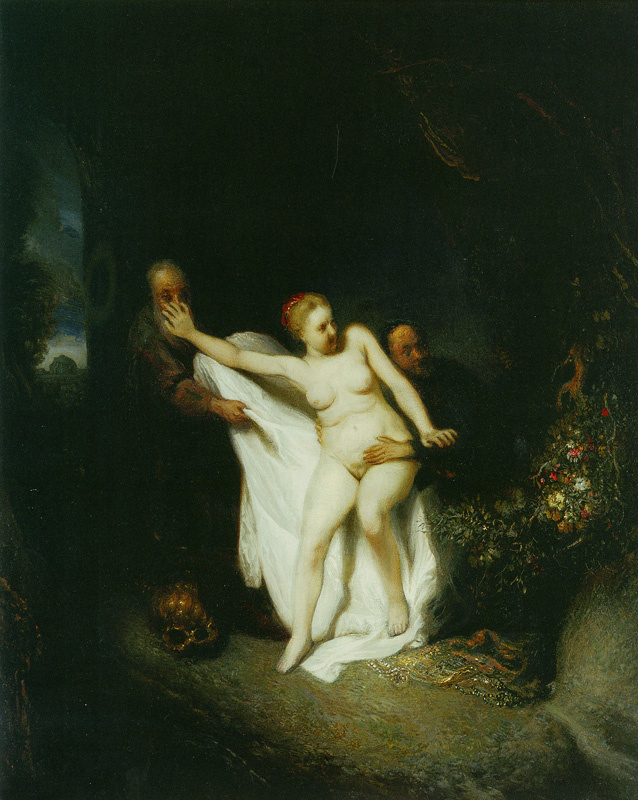 Jan Lievens. The Bathing Susanna