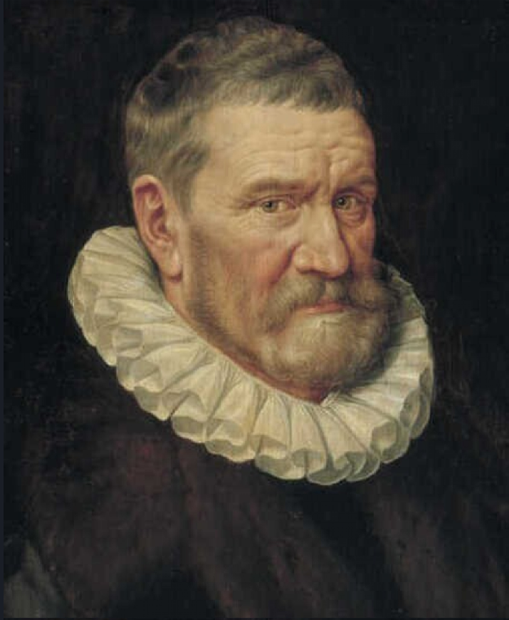 Adrian Thomas Kay. Portrait of 65-year-old man