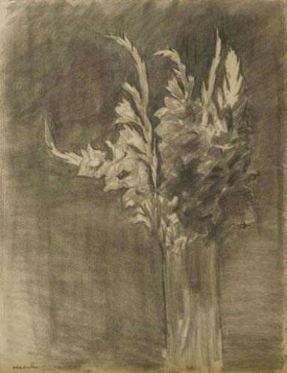 Theophile-Alexander Steinlen. Gladiolus