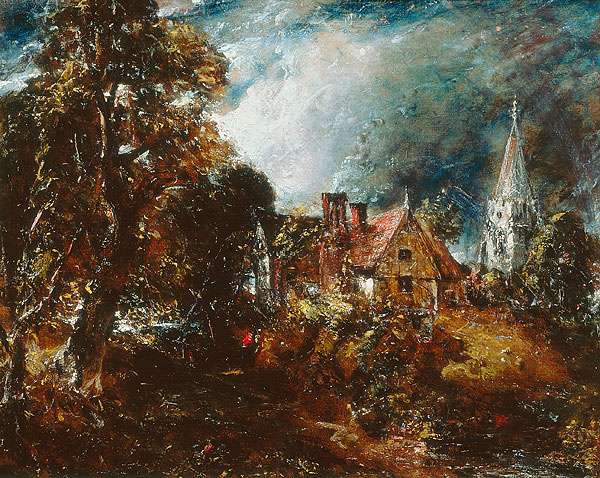 John Constable. Farm Glebe. Sketch