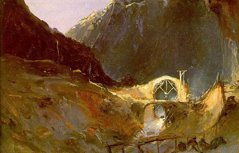 Чарльз Блечен. Мост