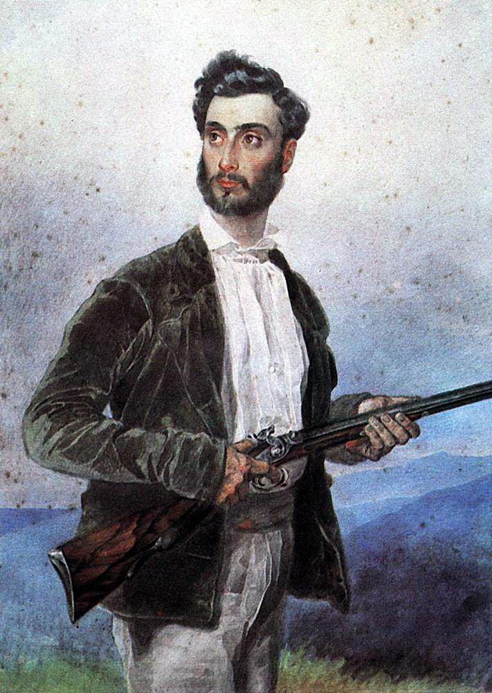 Карл Павлович Брюллов. Портрет Антонио Титтони