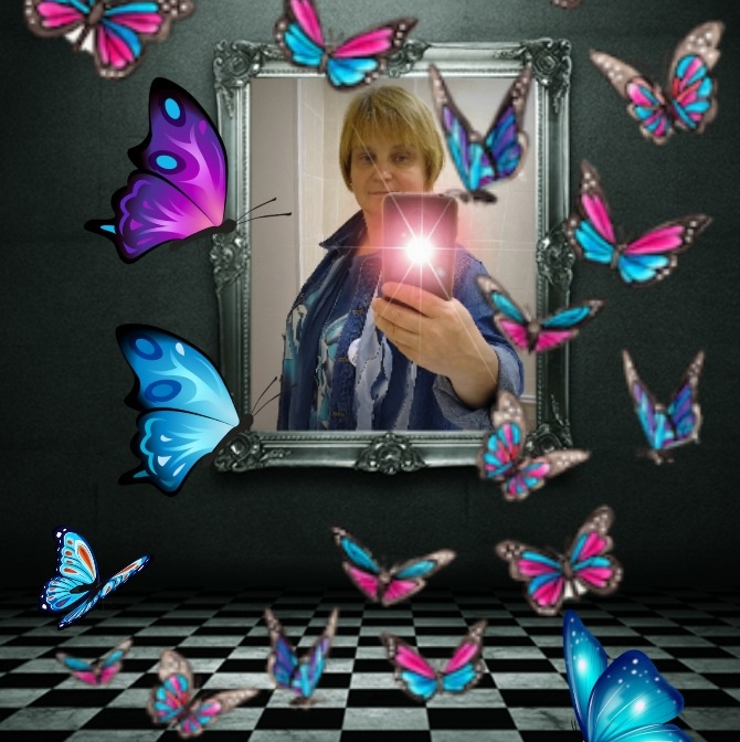 Natalya Garber. Butterflies. VR art for places of transformation processes of people and spaces