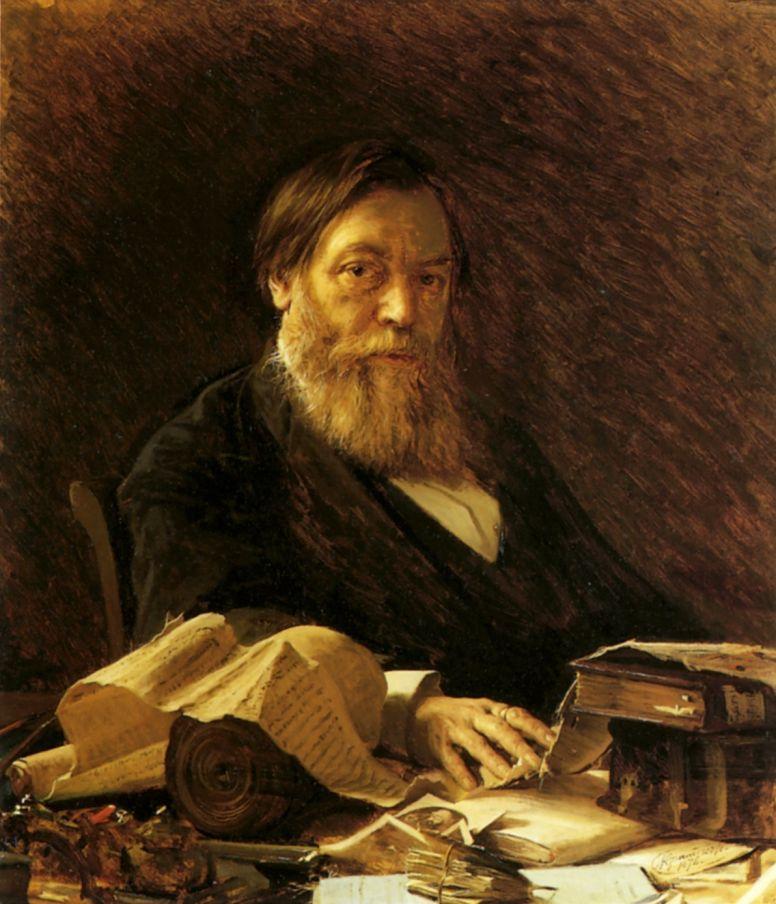 Иван Николаевич Крамской. Портрет П. И. Мельникова