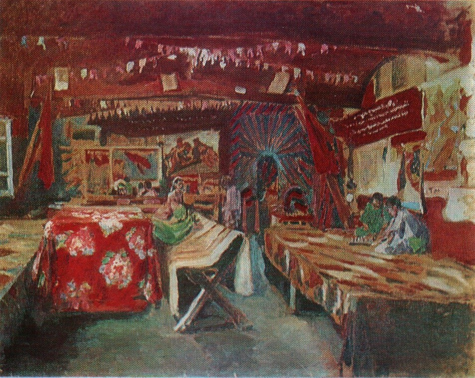 Pavel Petrovich Benkov. Red teahouse