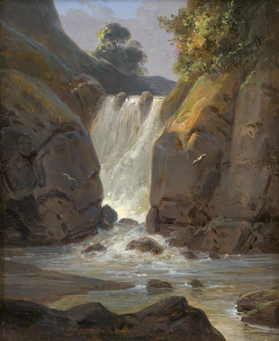 Otto Wagner. Geroldsau Waterfall, Baden-Baden
