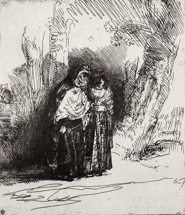 """Рембрандт Ван Рейн. Так называемая """"Прециоза"""""""