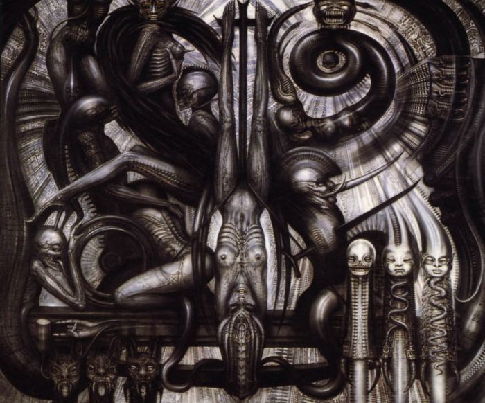 Hans Rudolph Giger. CHINESE EVOLUTION