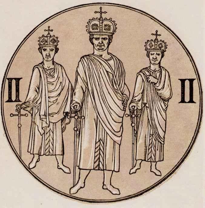Эразм Квеллин. Три римских короля