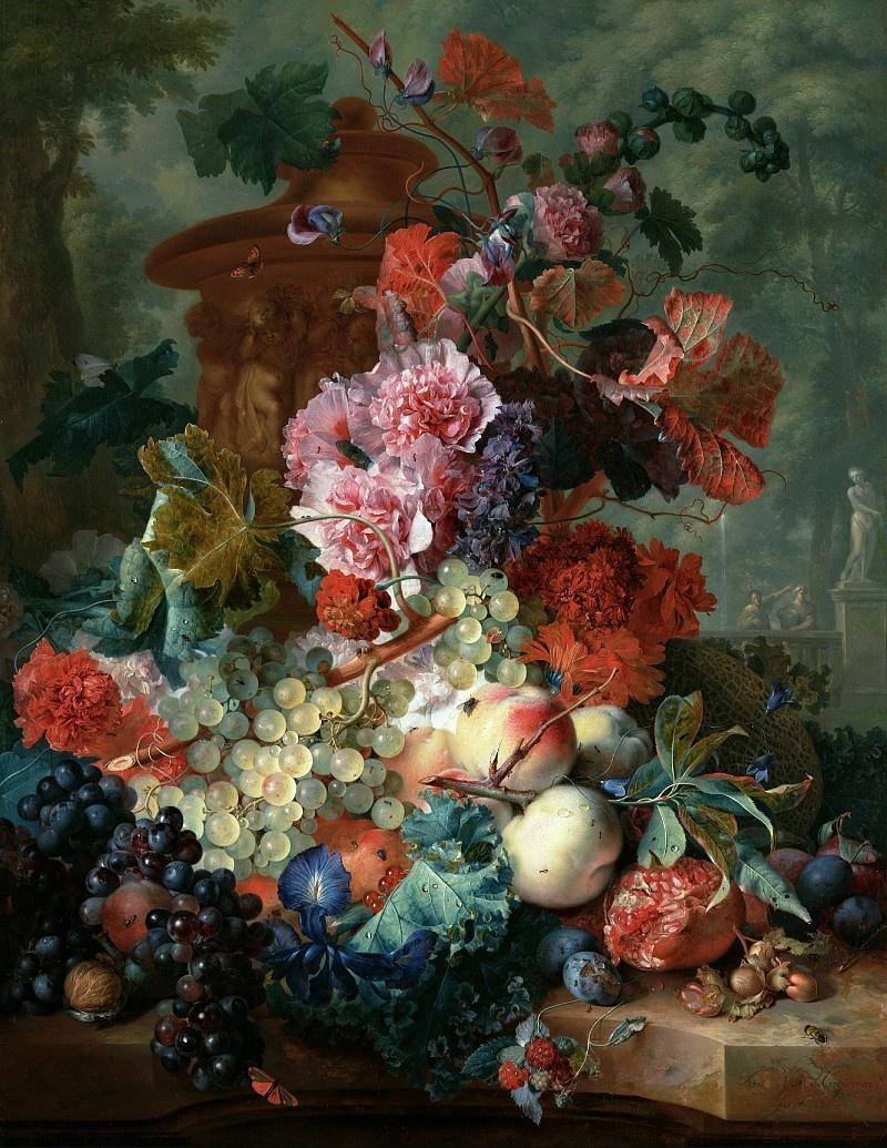 Ян ван Хейсум. Фрукты и цветы