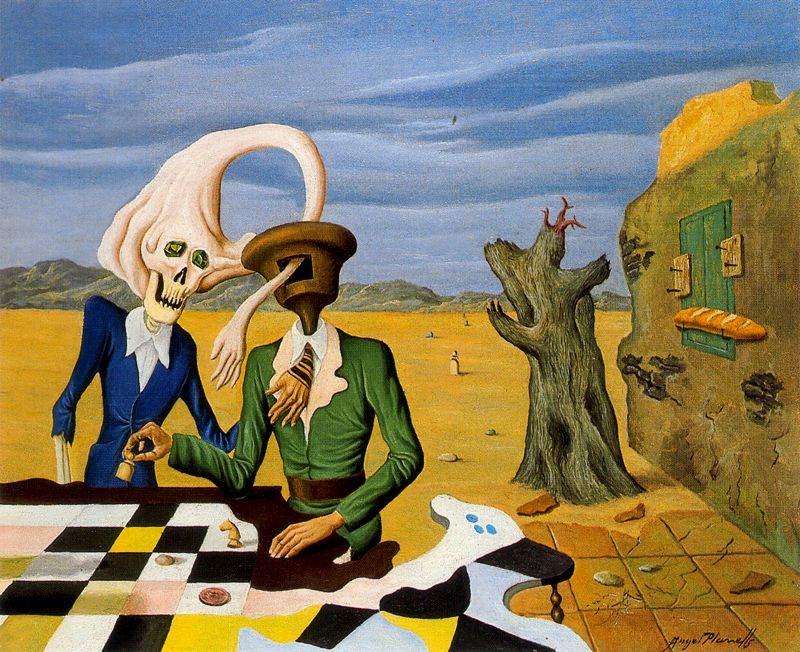Анхель Планеллс. Шахматное поле