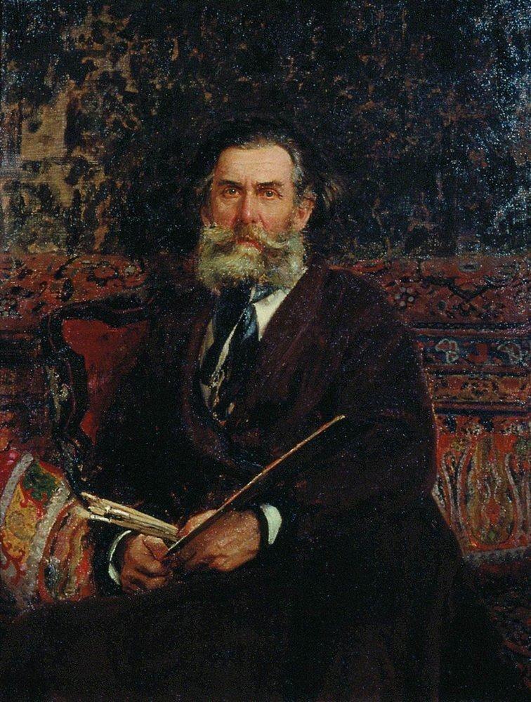Илья Ефимович Репин. Портрет А. П. Боголюбова