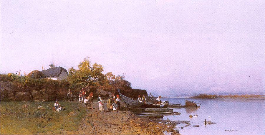 Геза Месзолу. Лодки
