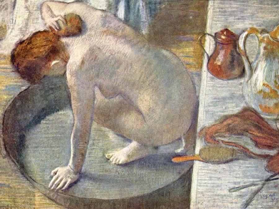 Edgar Degas. The bath