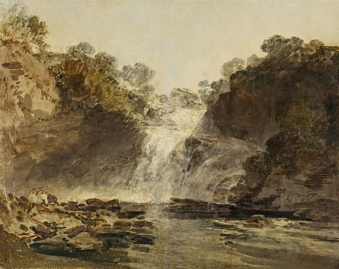 Joseph Mallord William Turner. Falls Of Clyde