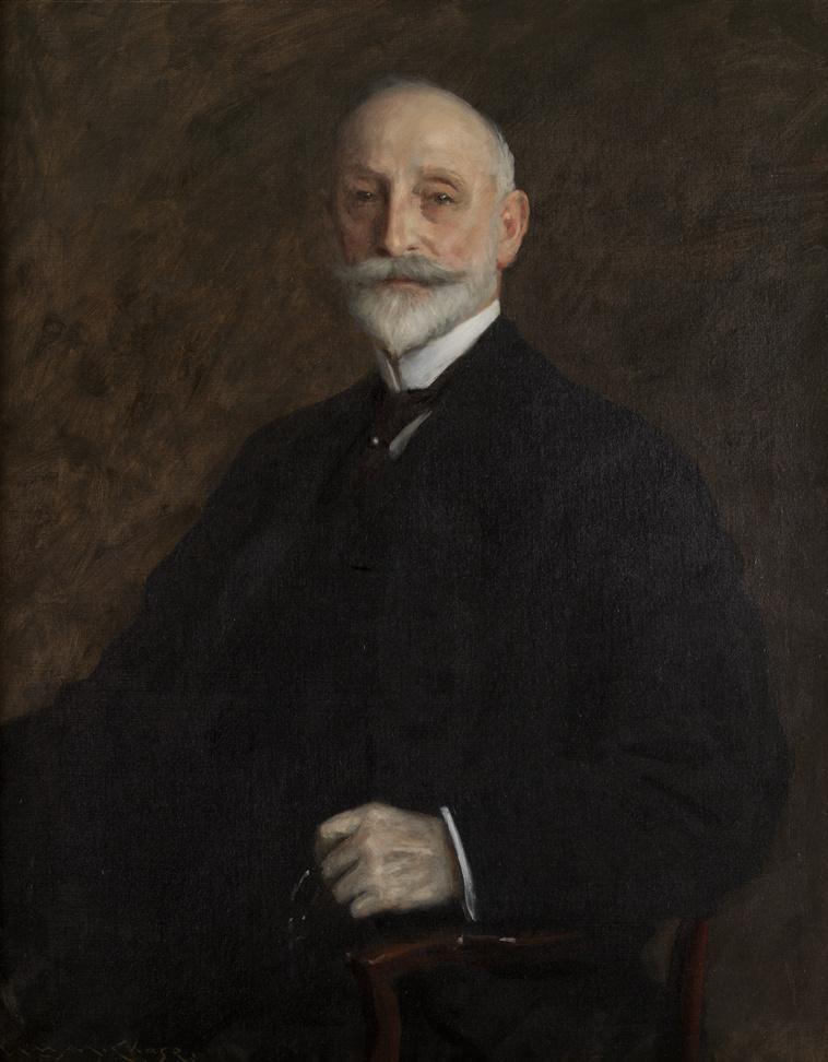William Merritt Chase. August B. Loeb