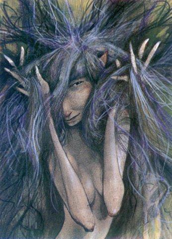 Брайан Фруд. Запутанные волосы