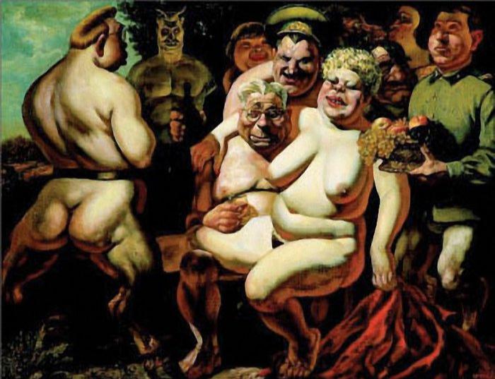 Vasily Vladimirovich Shulzhenko. Orgy