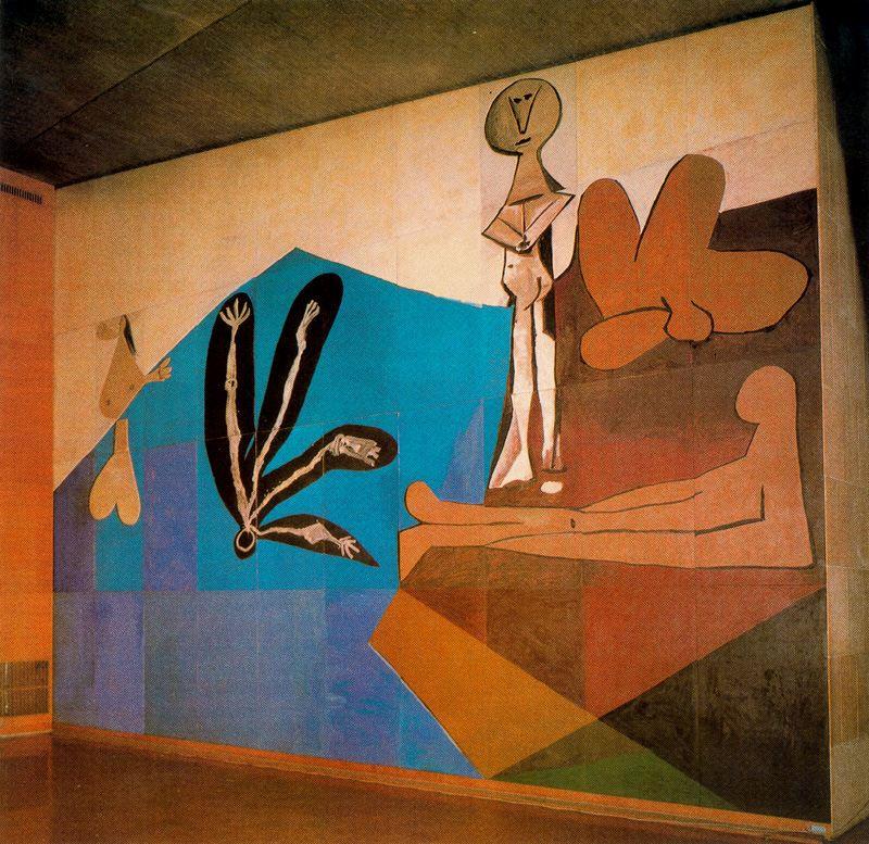 Пабло Пикассо. Падение Икара