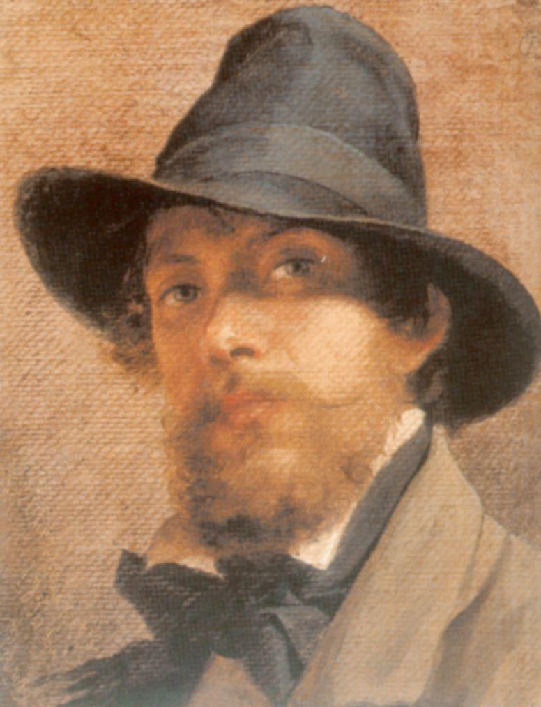 Fedor Andreevich Bronnikov. Self-portrait