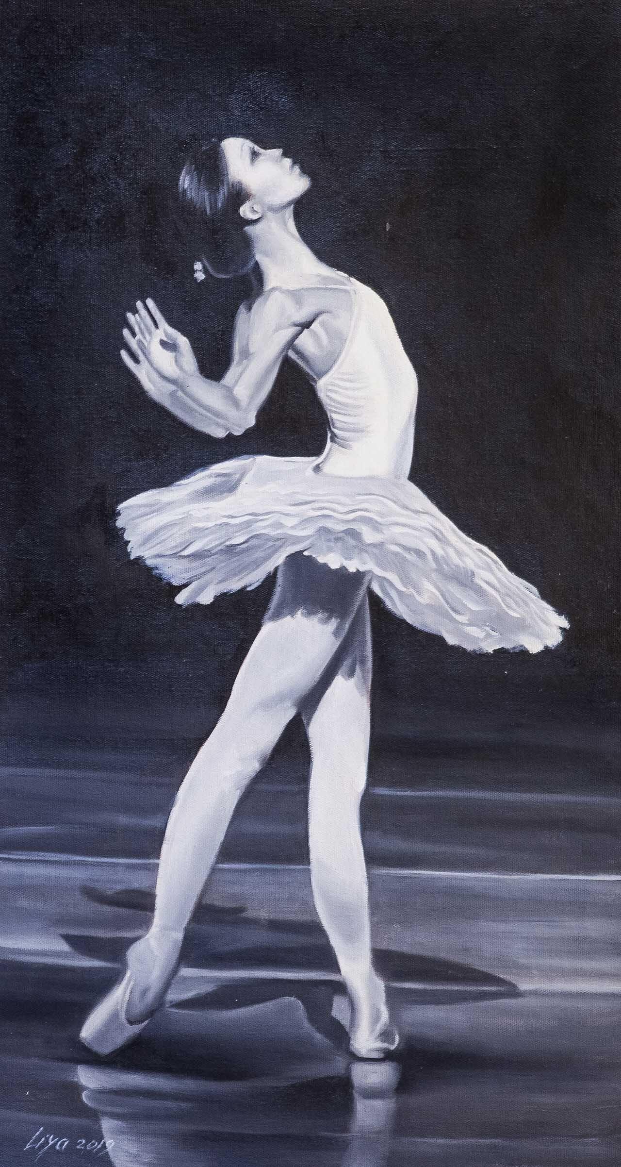 (no name). Ballerina. White Swan Dance