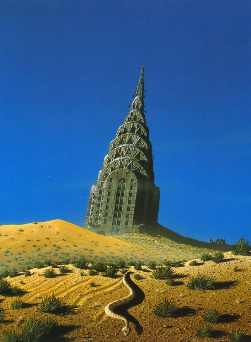 Tim White. Tower