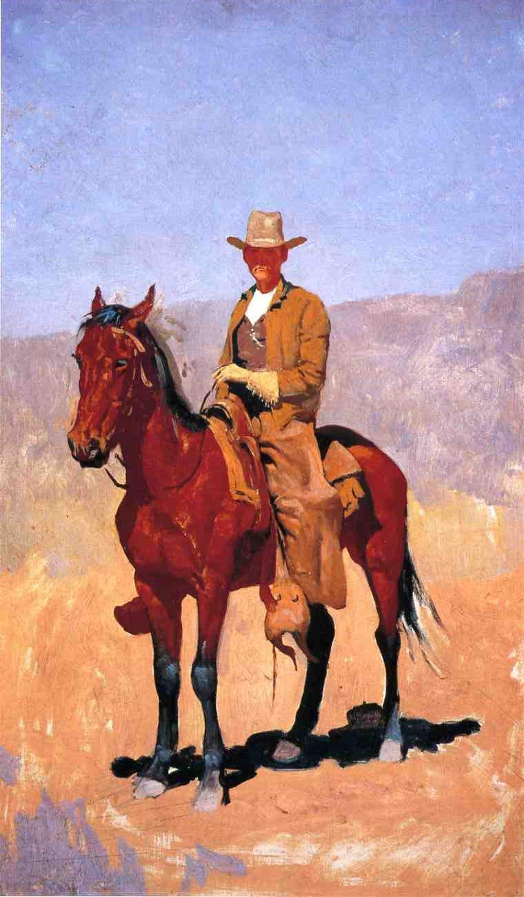 Frederick Remington. Rider